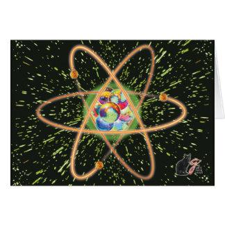 Radikales Atom Karte