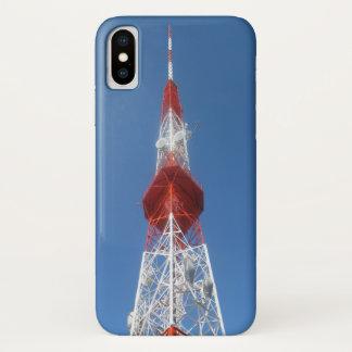 Radio-Fernsehsendungs-Turm iPhone X Hülle