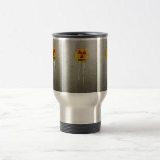 radioaktiv kontaminiert reisebecher