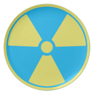 Radioaktiv Melaminteller