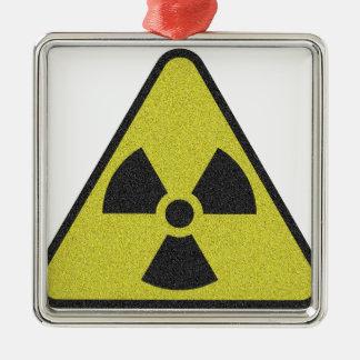 Radioaktiv Silbernes Ornament