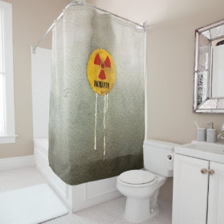 Radioaktiv - Verwitterung Duschvorhang