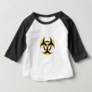 Radioaktive Biogefährdung Baby T-shirt