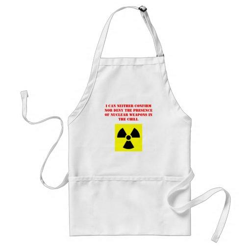 Radioaktive Chili-Schürze