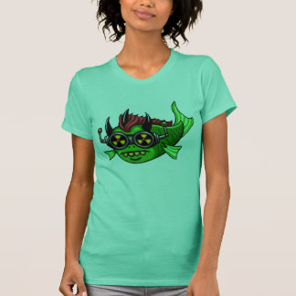Radioaktive Mutant-DUH Fische T-Shirt