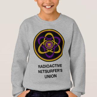 Radioaktiven Netsurfers Gewerkschaft Sweatshirt