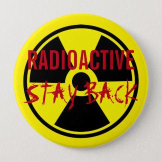 Radioaktiver Knopf Runder Button 10,2 Cm
