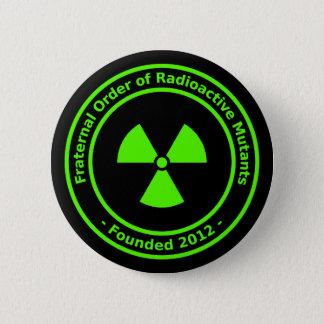 Radioaktiver Mutant-Knopf Runder Button 5,1 Cm