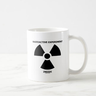 Radioaktives Experiment-Innere (radioaktives Kaffeetasse