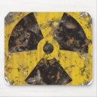 Radioaktives verrostet mousepad