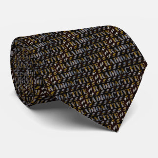 Radioaktives warnendes Muster Krawatte