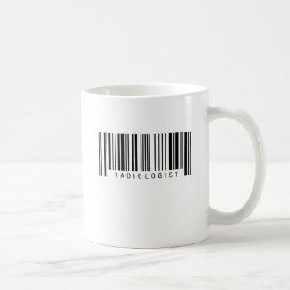 Radiologe-Barcode Kaffeetasse