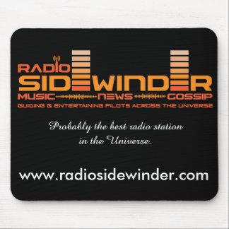 Radiosidewinder-Mausunterlage Mousepad