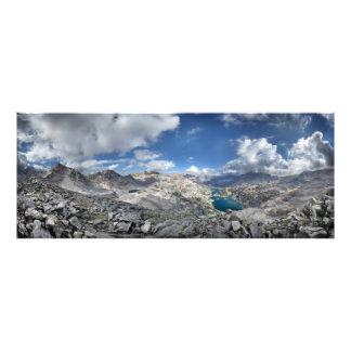 Rae Seen von gemalter Dame - John Muir-Spur Fotodruck