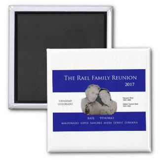 Rael Familien-Wiedersehen Quadratischer Magnet