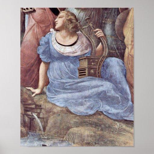 Raffaello Sanzio DA Urbino - Terpsichore Plakat
