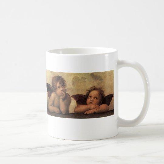 Raffaello Sistine Madonna Angels Kaffeetasse