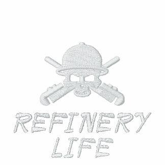 Raffinerie-Leben gesticktes Polo