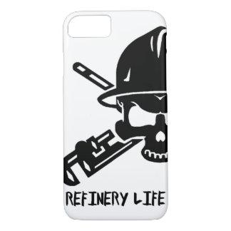 Raffinerie-Leben - Telefonkasten iPhone 8/7 Hülle