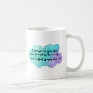 Raffinierte südliche Dame Kaffeetasse