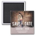 Raffinierter Eleganz-Save the Date Magnet - Rosa Magnets