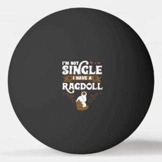 Ragdoll Katzen-Zitate Ping-Pong Ball
