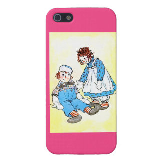 Raggedy Andy- u. Ann-Illustration iPhone 5 Fall Etui Fürs iPhone 5