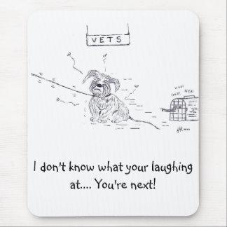 Raggy Hund - Tierarzt-Ärger! Mousepad