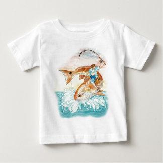 Ragin Stier Rot Baby T-shirt