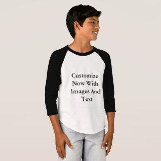 Raglan-Shirts - 3/4 Hülsen-Junge T-Shirt