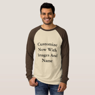 Raglan-Shirts - lange Hülsen-Männer T-Shirt