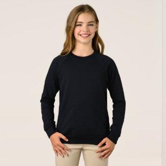 Raglan-Sweatshirt der Mädchen amerikanisches Sweatshirt