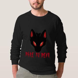 Raglan-Sweatshirt TEUFEL Männer amerikanisches Sweatshirt