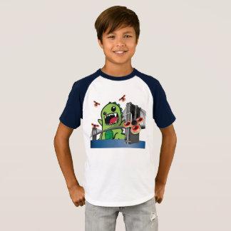 Raglan-T - Shirt der Unruhe-Spinner-Kinder kurzer