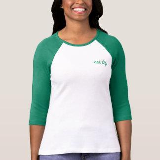 Raglan-T-Stück - AAC SLP - Kommunikations-Zug - T-Shirt