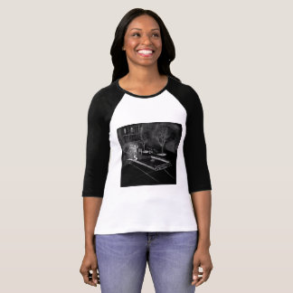 Raglin KT begrenzte Ausgabe, die mit Jalen hängt T-Shirt