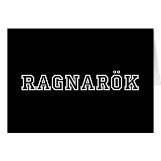 Ragnarok Karte
