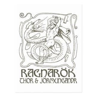 Ragnarök Postkarte