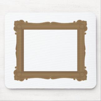 Rahmen in der Brown-Mausunterlage Mousepad