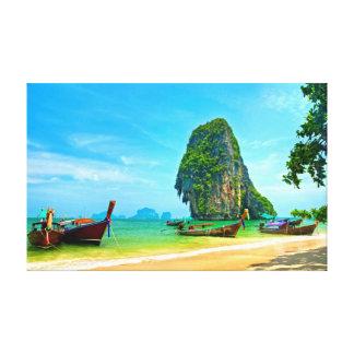 Railay Strand bei Krabi, Thailand Leinwanddruck