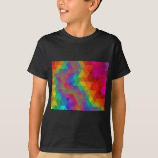 Rainbow geometric T-Shirt
