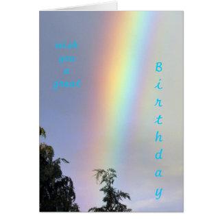 Rainbow-Greetings Grußkarte