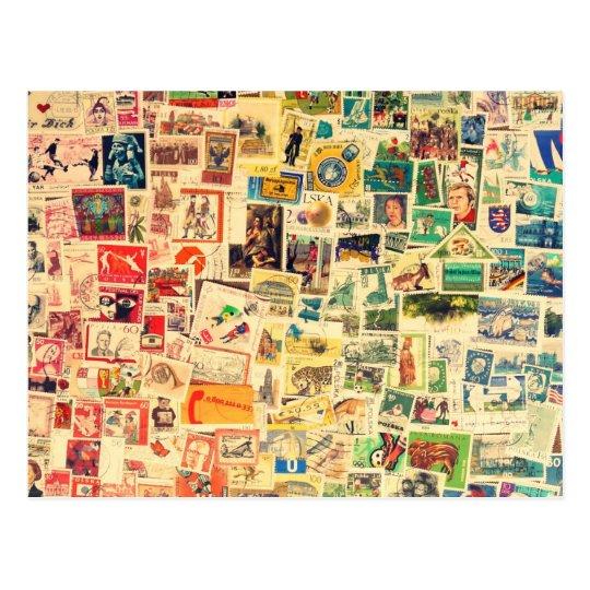 Rainbow Stamps Postkarte