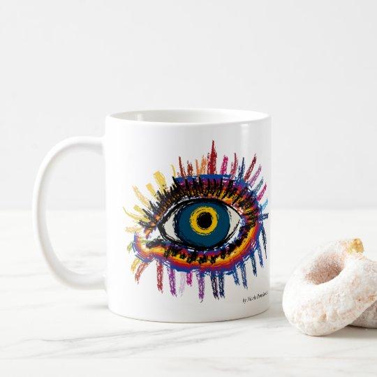 Rainboweye Kaffeetasse