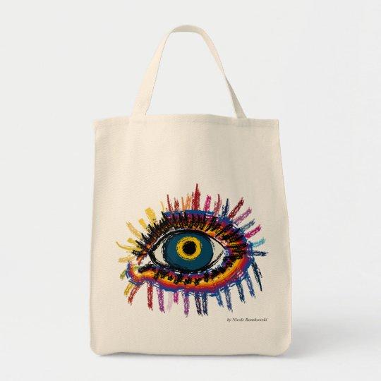 Rainboweye Tragetasche