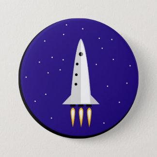 Raketentechnik Runder Button 7,6 Cm