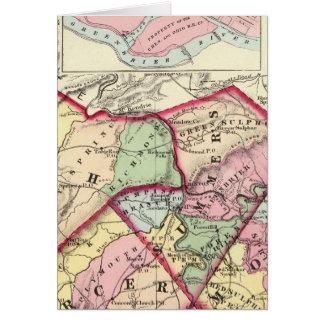 Raleigh, Mercer, Sommer, Monroe-Landkreise Karte