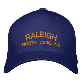 Raleigh-North Carolina-Hut Bestickte Baseballkappe