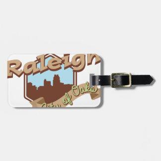 Raleigh-Stadt der Eichen Kofferanhänger