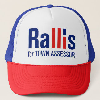 """Rallis für Assistenten"" Hut Truckerkappe"